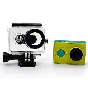 Caixa estanque para câmeras Xiaomi YI 2K Para Até 40m de Profundidade