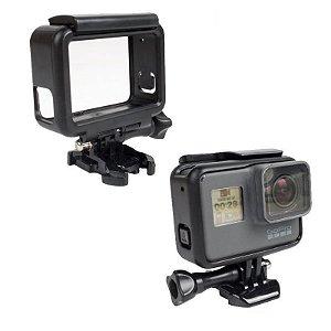 Moldura, Armação ou Frame Similar modelo Original para GoPro HERO5, HERO6 e HERO7 Black