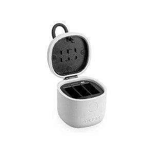 Carregador triplo ALLIN BOX resistente à água Telesin para GoPro HERO5 a HERO8 Black