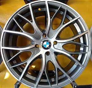 JOGO DE RODA BMW 335I BI TURBO ARO 17 5x114