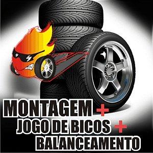 MONTAGEM + BICOS + BALANCEAMENTO
