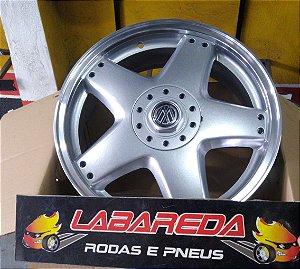 JOGO DE RODA BRW 1450 GOL GTI 8V ARO 18 4X100 TALA 6