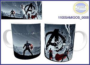 Caneca Ceramica 325ml - Vingadores  ( 01 Unidade )