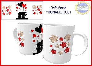 Caneca Ceramica 325ml - Dia dos Namorados  ( 01 Unidade )