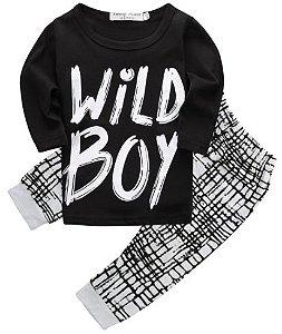 Conjunto de bebê - Wild Boy