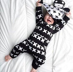 Macacão quentinho para bebê XXX