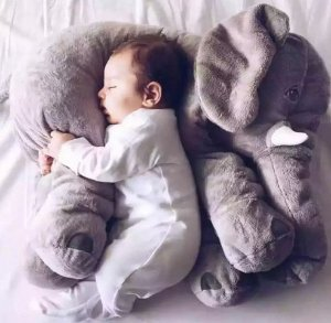 Elefante posicionador para bebê