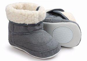 Botinha de Inverno Baby Cinza