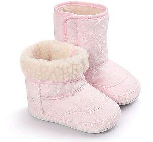 Botinha Inverno Baby Girl Rosa