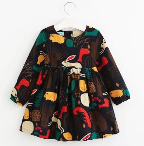 Vestido Jungle Animals