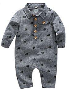 Macaquito de bebê - Urban cinza