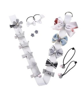 Kit com 17 laços em tira - white
