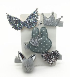 Kit de laços -Silver bunnie