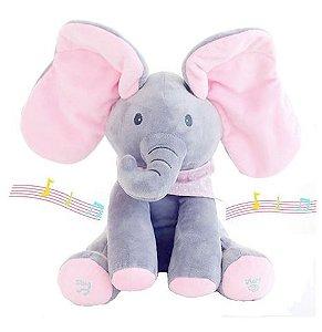 Elefante Animado Nina (toca música)