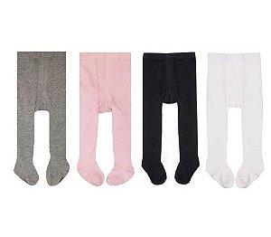 Kit com 4 meias calças - BABY