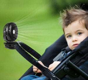 Mini ventilador para Carrinho