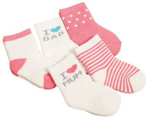 Kit com 5 meias - Mum