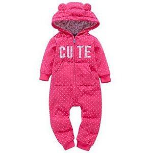 Macacão de bebê super quentinho - Meninas