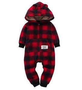 Macacão de bebê quentinho - Meninos