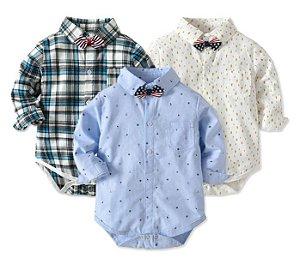Camisa de Bebê - Manga Longa