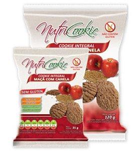 Cookies Integral Maça e Canela