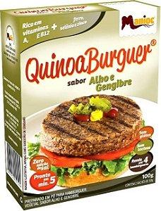 QuinoaBurguer Alho e Gengibre