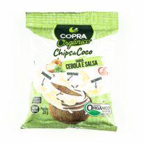 Chips de Coco sabor cebola e salsa
