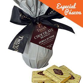 Ovo de Pascoa Chocolate Branco Tnuva 180gr