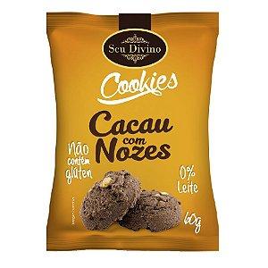 Cookies Cacau com Nozes Seu Divino 60g