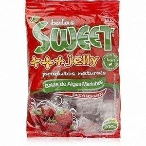 Balas de Algas Sweet Jelly Morango 200g