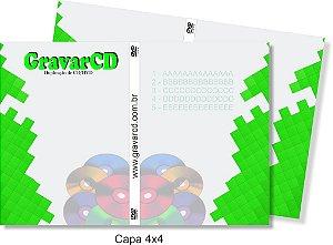 1000 Capas para Box de Dvd 4x4