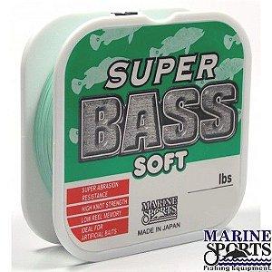 Linha Marine Sports Super Bass Soft 0,40mm 24lbs - 250m