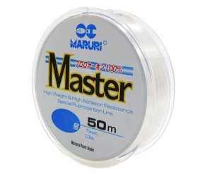 Linha Fluorcarbono Master Maruri 0,25mm (12lbs) - 50m