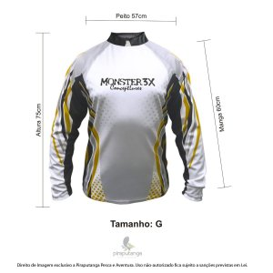 Camisa Monster3x New Fish Wide 01 (G)