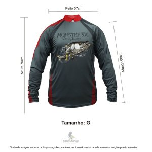 Camisa Monster3x New Fish Wide 04 (G)