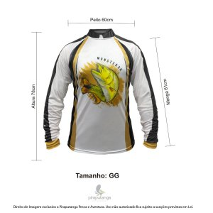 Camisa Monster3x New Fish Wide 06 (GG)