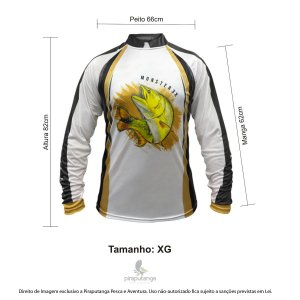 Camisa Monster3x New Fish Wide 06 (XG)