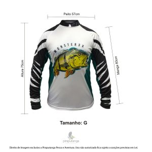 Camisa Monster3x New Fish Wide 07 (G)