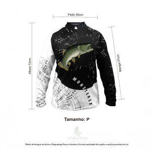 Camisa Monster3x New Fish Wide 05 (P)