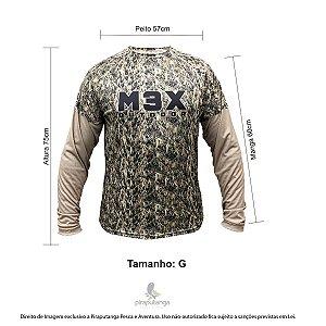 Camisa Pesca Monster3x Outdoor 06 Camuflada G