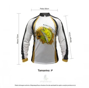 Camisa Monster3x New Fish Wide 06 (P)