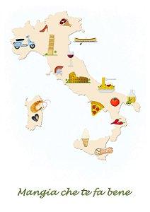 Mapa Gastrônomico Itália