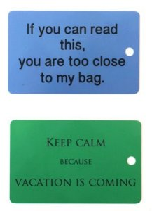 Combo 2 Tags  |  Keep Calm + Too Close
