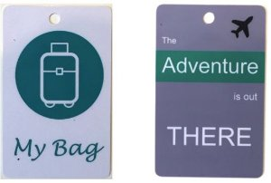 Combo 2 Tags  |  My Bag + Adventure