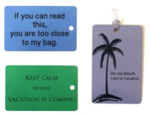Combo 3 Tags  |  Keep Calm + Too Close + Do Not Disturb