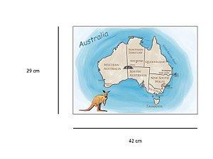 Mapa Austrália