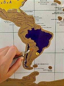 Mapa Mundi - Raspadinha