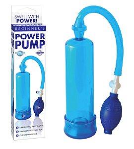 Bomba Peniana Power Pump Pipedream - Azul