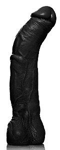 Pênis Ricardão com Escroto e Veias 27 x 5,5 cm - Negro