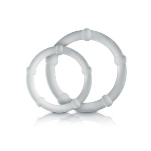 Kit de Anel Peniano Retardador Love Ring 2 Unidades